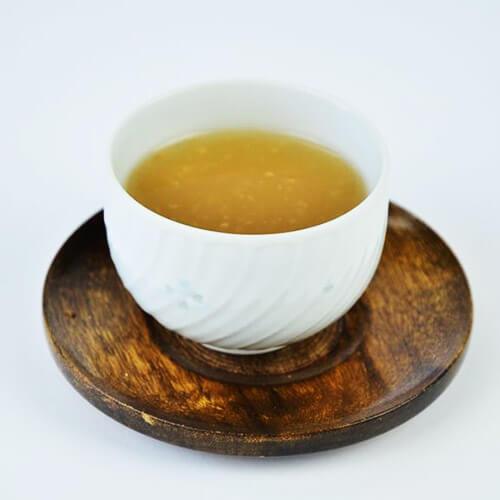 自制葛根粉皮汤