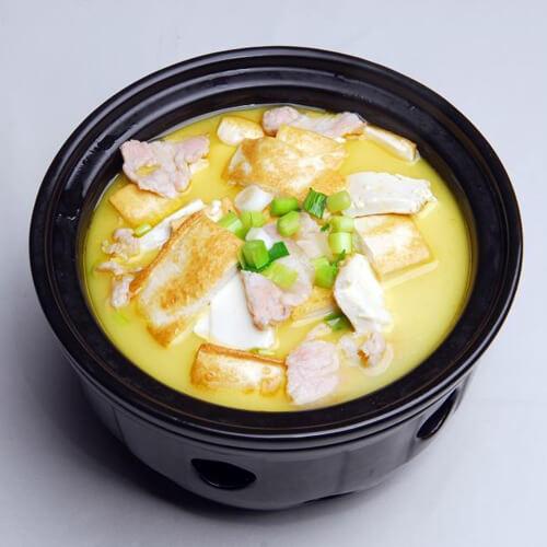 鱼滑炖豆腐