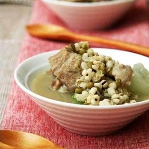 排骨绿豆汤