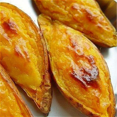 家庭版蜜糖烤红薯