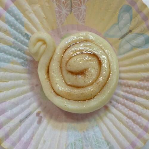 蜗牛杂粮馒头