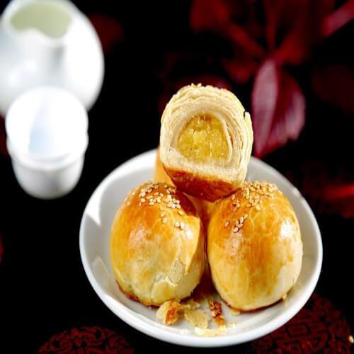 凤梨馅月饼