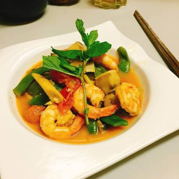 泰式薄荷虾