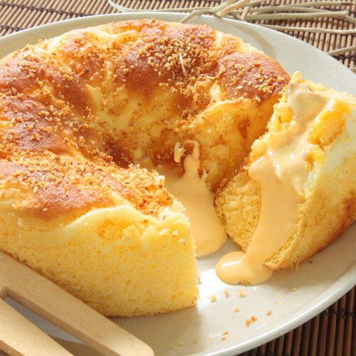 自制无糖酥脆蛋糕