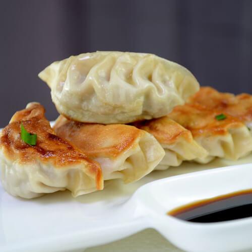葱香鲜肉煎饺