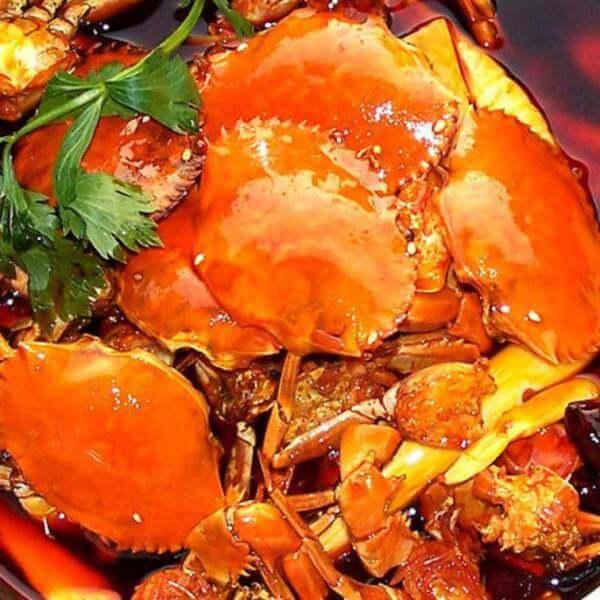 椰香椰汁咖喱螃蟹