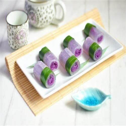 奶香紫晶糕