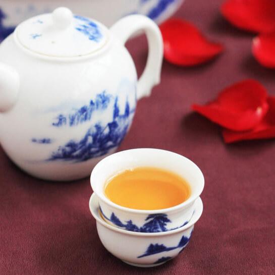 菊花山楂普洱茶