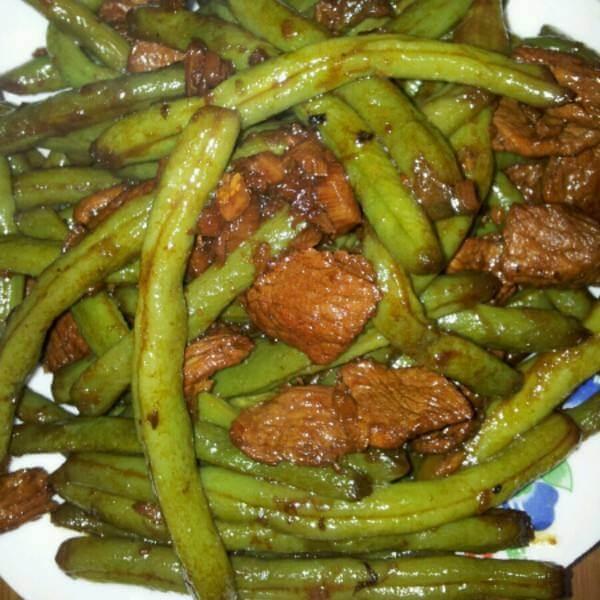 蒜籽烧芸豆