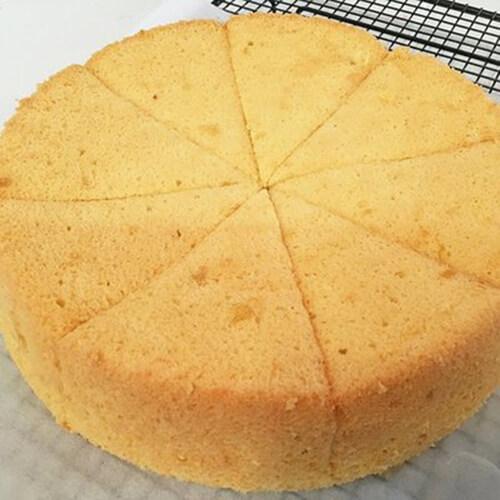 十寸榴莲戚风蛋糕