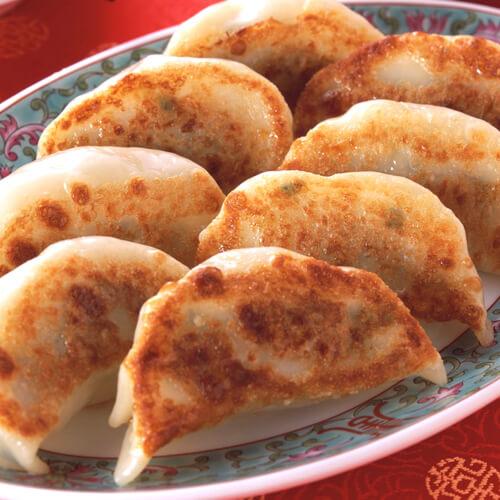 酥脆白菜煎饺