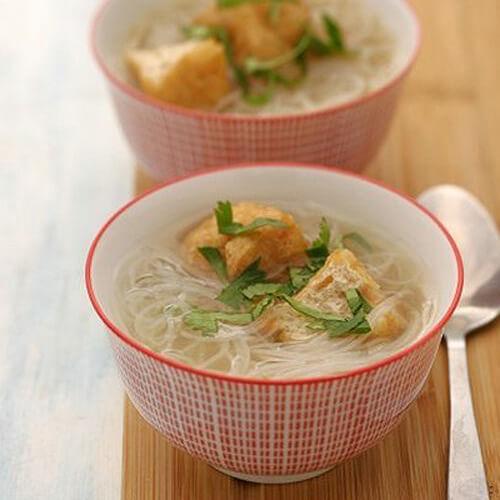 老黄瓜干豆腐粉丝汤