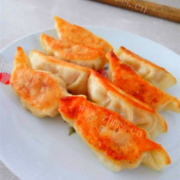 猪肉豆腐煎饺