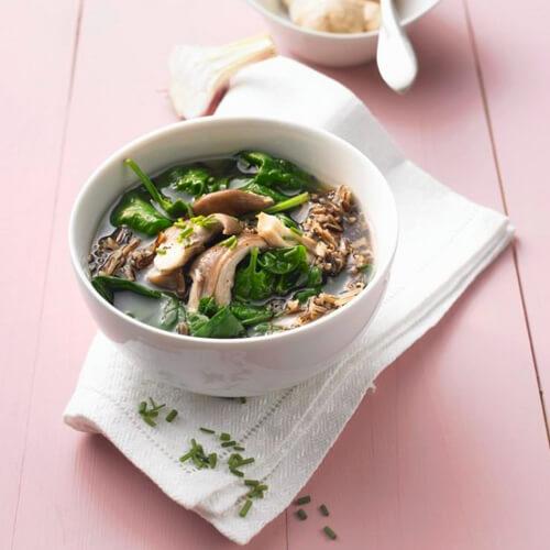 虾米蘑菇肉汤