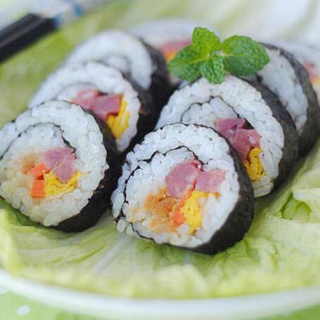 简单的寿司卷