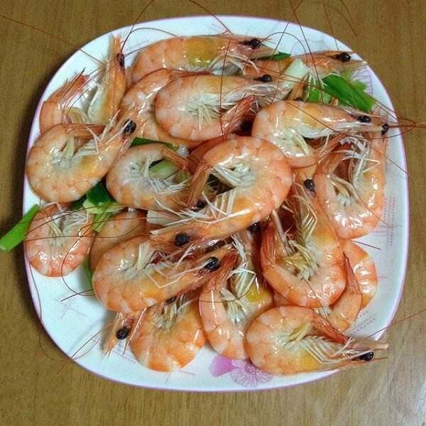 水煮金钩虾