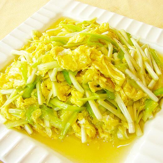 肉沫韭菜煎蛋