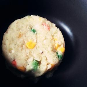 美食粒粒土豆泥沙拉