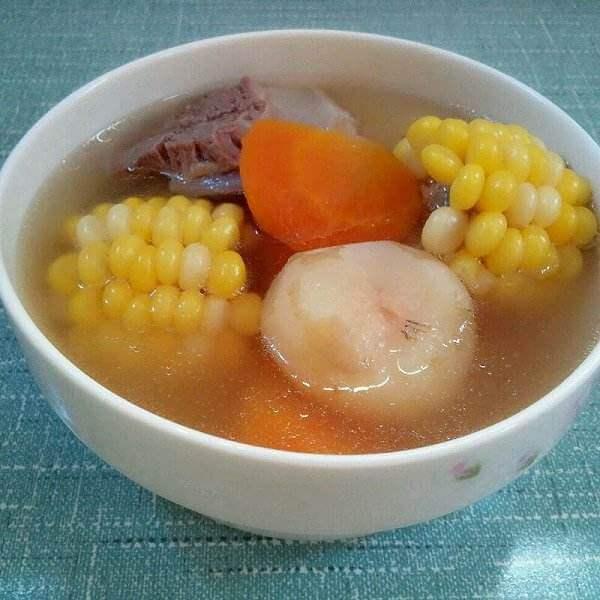 马蹄胡萝卜猪骨汤
