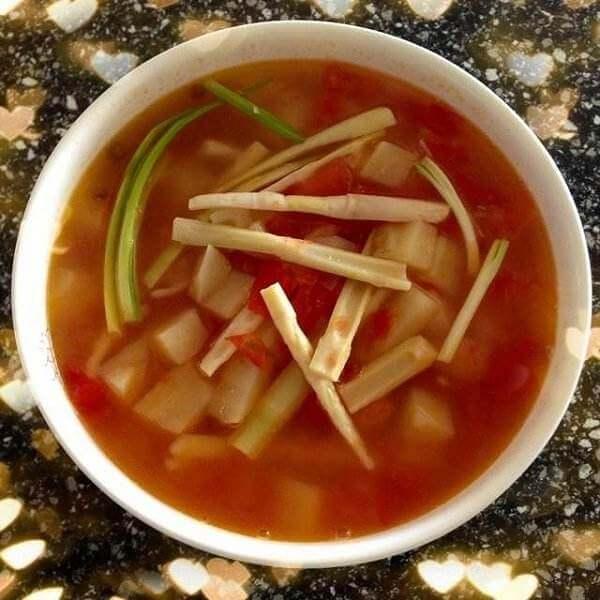 干贝土豆西红柿汤