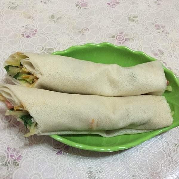 薄饼卷土豆丝