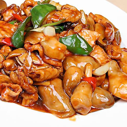 瘦肉炒平菇