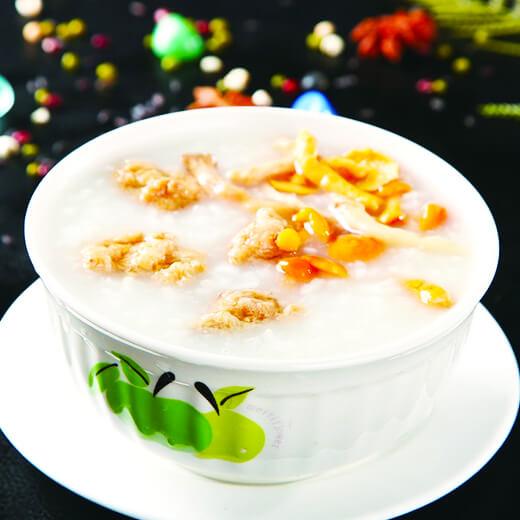 海鲜杂粮砂锅粥