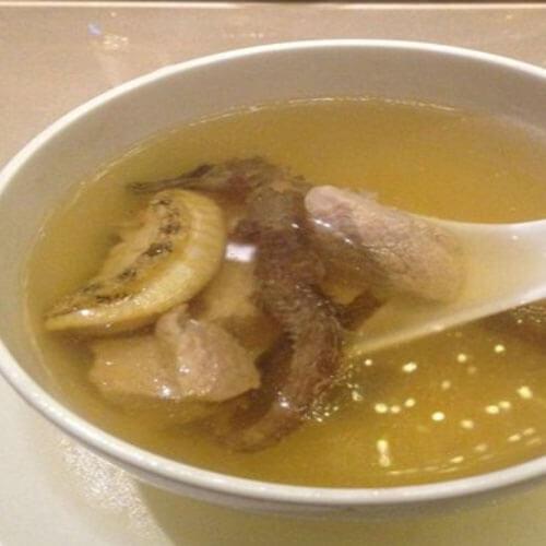 美味的美容养生石斛汤