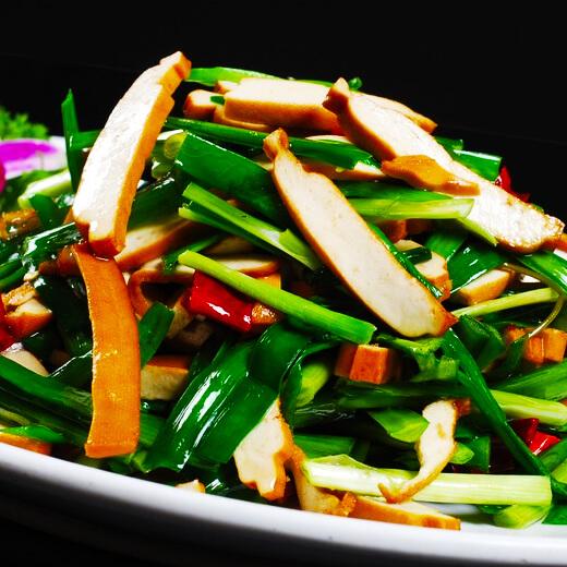 鱼香韭菜炒豆腐