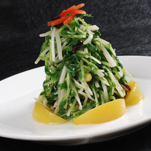 韭菜绿豆芽