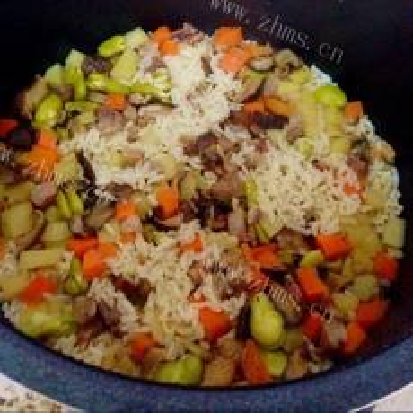 香浓高压锅米饭