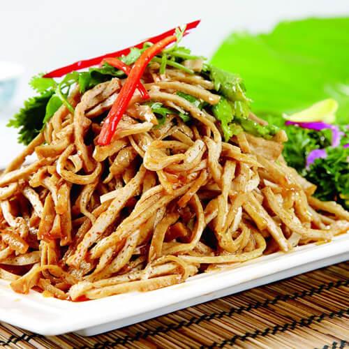 辣椒炒豆腐丝