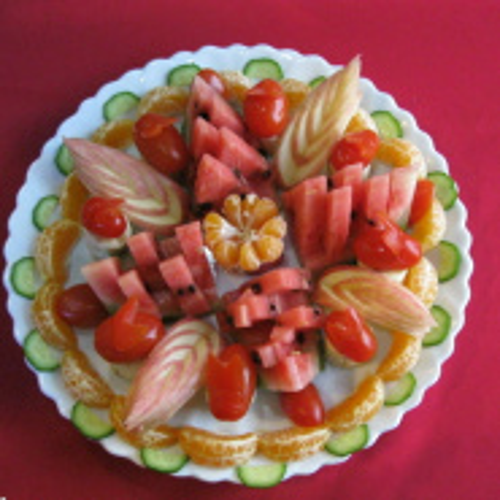 雅致水果拼盘