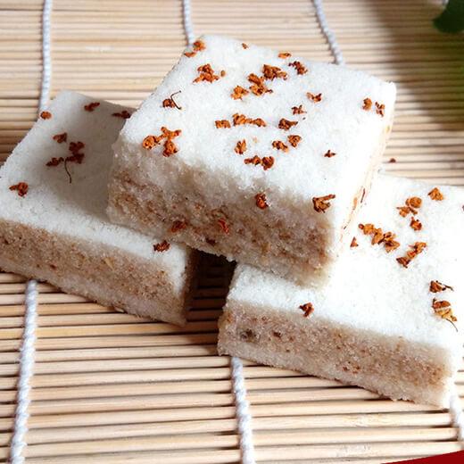 美味的糯米桂花糕