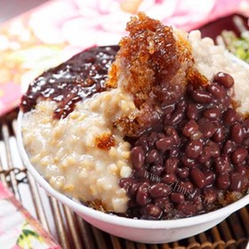 冻米粥(省时妙方)