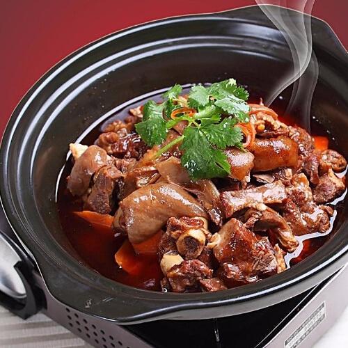红焖羊肉白萝卜