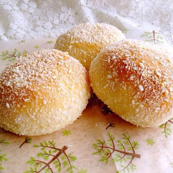 好吃的面包机版椰蓉吐司
