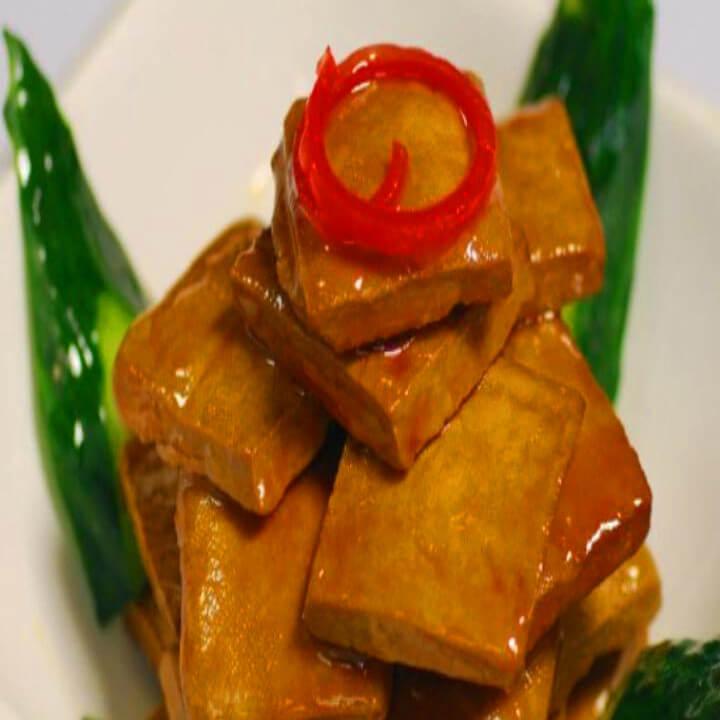 爽嫩可口的温拌卤豆腐