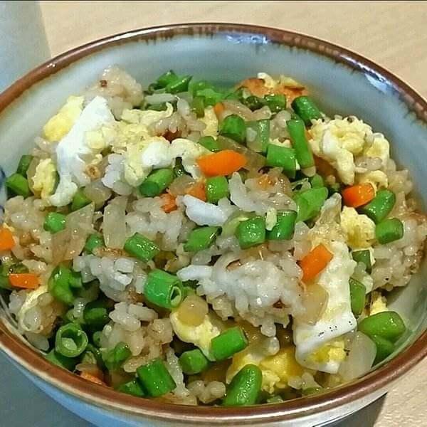 青椒洋葱炒饭