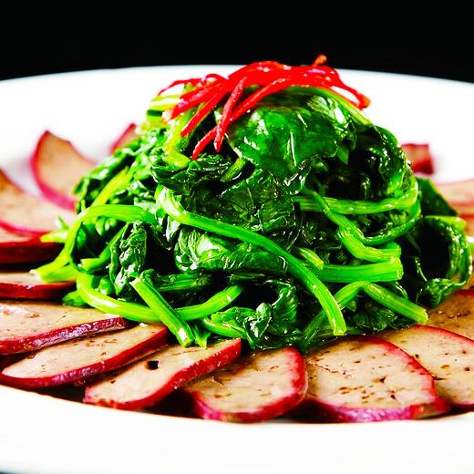 猪肝菠菜菠菜