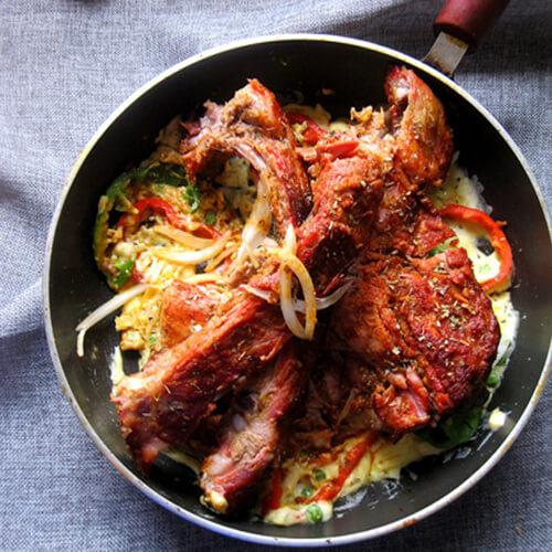 美味韩式芝士排骨