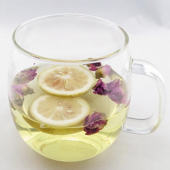 蜂蜜玫瑰柠檬茶