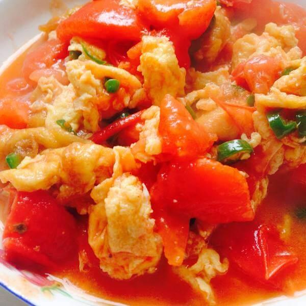 西红柿煎饼