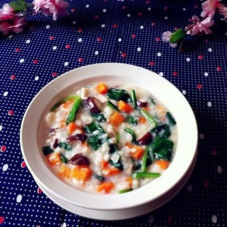 胡萝卜香菇疙瘩汤