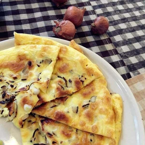 香菇火腿鸡蛋饼