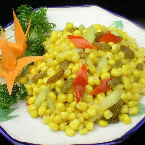 爽口的玉米粒大丰收