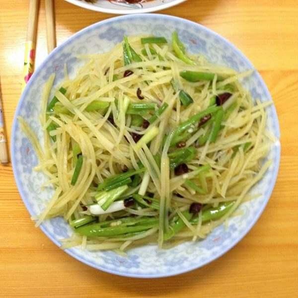 迷恋青椒煮土豆
