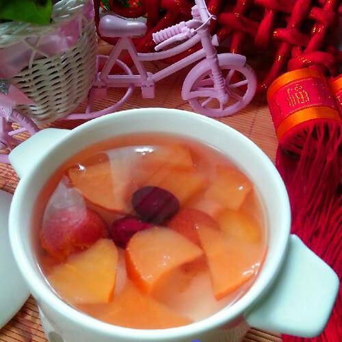 山楂红枣苹果汤