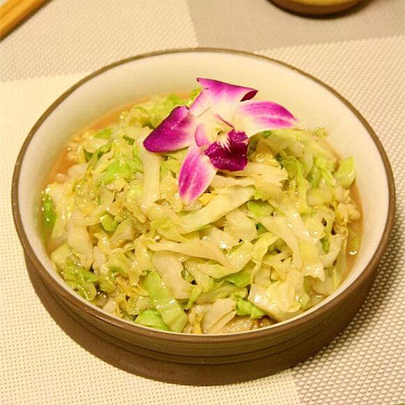 虾酱炒椰菜