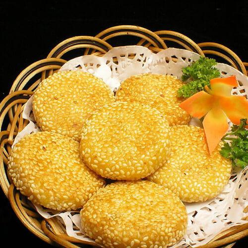 传统美食芝麻脆饼